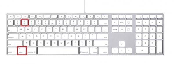 Como hacer arroba en MAC