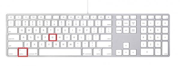 Como poner arroba en MAC APPLE